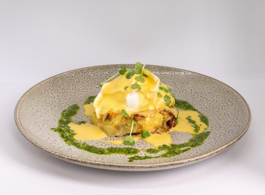 Duke of Wellington, Egg and Hash Vegan Vegetarian Option Breakfast Brunch