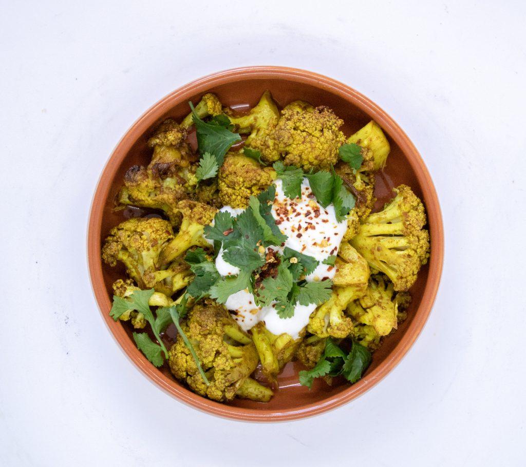 Duke of Wellington, Turmeric Tempura Cauliflower Vegan Gluten Free Gastropub food and Drink