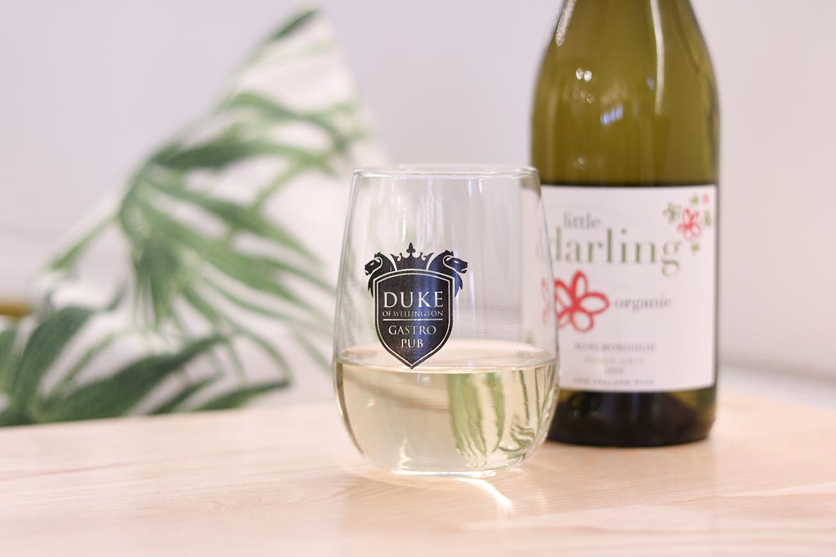 Duke of Wellington Pub Bar Restaurant Drinks New Zealand Wine Pinot Gris Marlborough